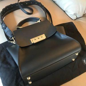 d87c53ad3858 ZAC Zac Posen Bags - Eartha Iconic Core Top Handle Leather Crossbody